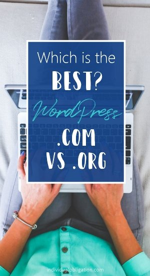 Which is the best? WordPress.com vs wordpress.org