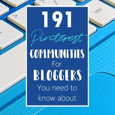 191 Pinterest communities for bloggers you need to know about