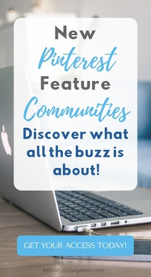 New Pinterest feature Pinterest Communities. Discover what all the buzz is about!