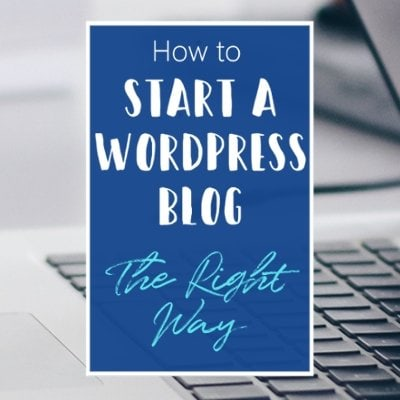 How To Start A Wordpress Blog Blogging For Beginners Featured 1 S Default Blue