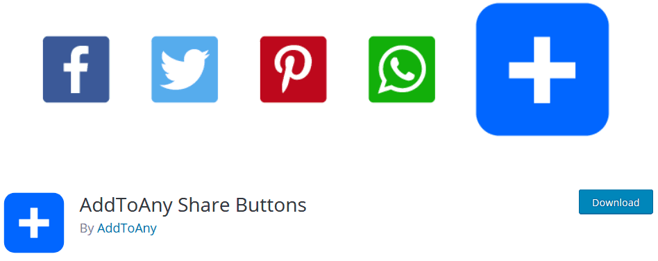 Social Media Plugin For WordPress Addtoany Share Buttons Plugin