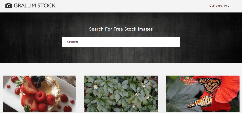 Free Stock Photography Images Using The Grallim Stock Website