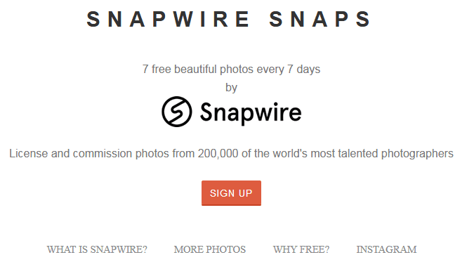Free Stock Photography Images Using The Snapwire Snaps Website