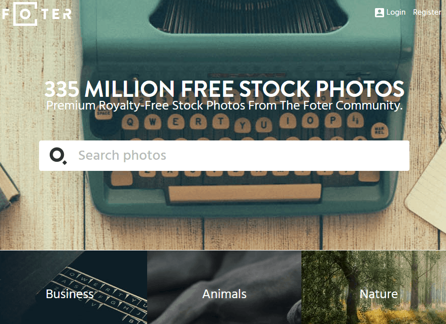Free Stock Photos Using The Foter Website