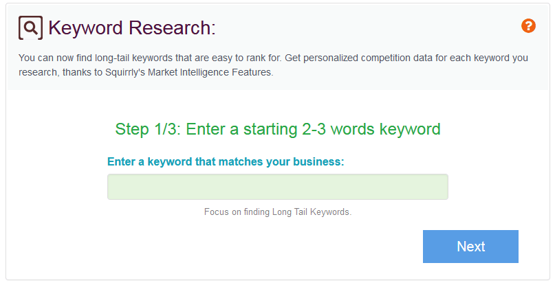 Squirrly Seo Review Of The Keyword Research Tool