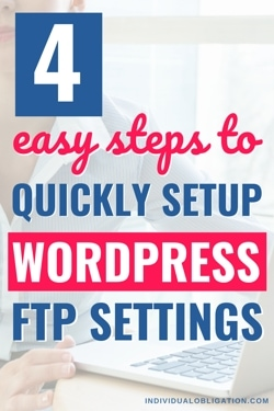 4 easy steps to quickly setup WordPress FTP settings