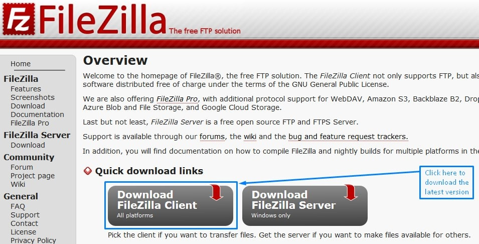 Wordpress Ftp Download The Latest Version Of Filezilla