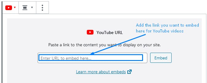 How To Embed WordPress Links For Youtube