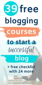 Free Blogging Courses For Bloggers To Learn How To Blog And Make Money Online