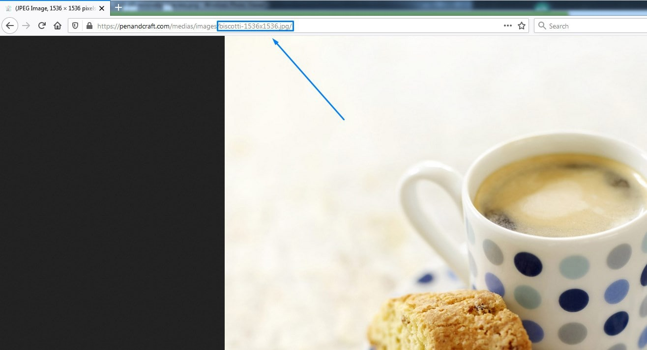 Image Seo Example Of Automatically Generated Seo Optimized Filename