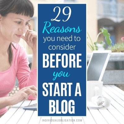 Why Start A Blog The Pros And Cons Of Blogging Featured